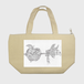保冷ランチトートバッグ :kazue.M_012(的(まと))