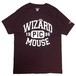 PICTURE MOUSE■WIZARD Tsh(BURGUNDY)