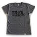 【在庫限りで販売終了】Tri Brend T-Shirt / TW / Heather Black