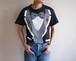 1980's USA製 [SCREEN STARS] タキシード 騙し絵Tシャツ 100%コットン ブラック 表記(L)