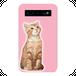 #000-009 動物系・かわいい系  モバイルバッテリー  《見つめる猫》  iphone  スマホ 充電器