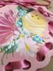 トールペイント・オーナメントコースター(ピンク) by KYOKO YAMADA