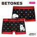 【BETONES】【レディース】ANIMAL4 /  白クマ レディース ボクサー パンツ シームレスタイプ☆
