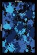 ラッピングフィルム  1300mm × 2000mm 【Blue camo】 C4C-WP104L