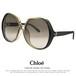 クロエ サングラス レディース chloe ce723sa 040 62mm uvカット ビックレンズ アジアンフィットモデル