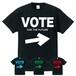 VOTE⇒ (T-SHIRT) ブラック