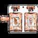 iPhone・Android Mサイズ 香水手帳型ケース color:スカーレットオレンジ