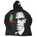 """Malcolm X"" Vintage Hooded L/L Used"