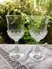 フランス クリスタルグラス ステムグラス