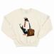 [スウェット] business penguin