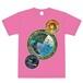 Tシャツ ピンク(デザイン)
