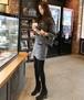 【シックなセットアップ☆上下別々にも着られます】上下セットアップ セットアップ 大人可愛い 上下セット 秋 冬 スウェット スカート 大きめサイズ 2点セット ジャケット 韓国ファッション カジュアル トップス