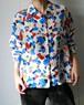 YSL rive gauche 70's blouse