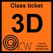 YKW 3D Class ticket