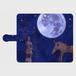 月夜今城塚形象埴輪 黒革 Android L