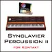 Synclavier Percussion ll for Kontakt