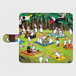 うさじろうのピクニック手帳型スマホケース