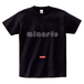 minario / POLYGON LOGO T-SHIRT BLACK