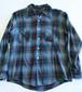 1970's Vintage Ombré check shirt