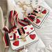 heart shoulder bag 2color