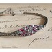 Art Deco Diamond Ruby Bracelet