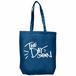 コットントートバック(HIGE Logo/ヒゲロゴ)ブルー/Blue