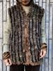 (TOYO) rabbit far vest