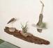 流木の壁掛けシェルフ飾り棚-17