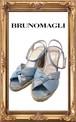 BRUNOMAGLI ブルーノマリ ウエッジストラップサンダル 37