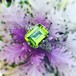 Art Deco Peridot Filigree Ring