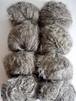 海松茶(みるちゃ)色の毛糸