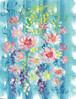 花のテーブルクロス
