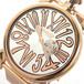 ガガミラノ GAGA MILANO SLIM スリム 46mm 腕時計 クオーツ メンズ 5081.2 ピンクゴールド