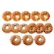 ベーグル4種類(プレーン5・ごま3・ゴマチーズ3・チョコ3)14個