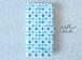 [受注制作] iPhone Android 手帳型スマホケース 水彩四角模様デザイン