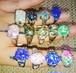 アワビリング レジン キラキラ鮑の指輪