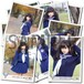 山下 優奈 ブロマイド3枚セット 【冬セーラー服/全12種】 2015年1月 #BR02402