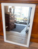 70's U.S. Mahogany Wood Paint Mirror