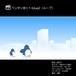 ペンギン歩く1-blue2(ループ)