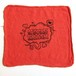 Cycle Trash 21th anniversary Shop Towel, Red-Fart by Burrito Breath