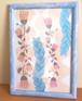 ポスター flower 2 (B5 額入り)