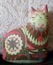 Marmaduke the Cat Tea Towel / Cloth Kit