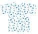 フルグラフィックTシャツ 151004-001