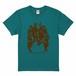 AmiliyahメンバーTシャツ(緑×茶)