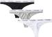 Calvin Klein Women Carousel Tバック 3色セット Black/Grey/White