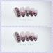 レース❤︎ピンク花❤︎セクシーネイルチップ/つけ爪
