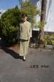 着物リメイク 簡単シンプルオーダーメイド 着物を二部式着物に