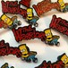 "THUMBS""Bart x The Warriors Pin Badge"""