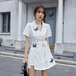 【set】絶対欲しいファッションセットアップバタフライコート+ショートパンツ2色