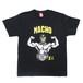 SAKE Tシャツ】MACHO マスクマン TEE / ブラック
